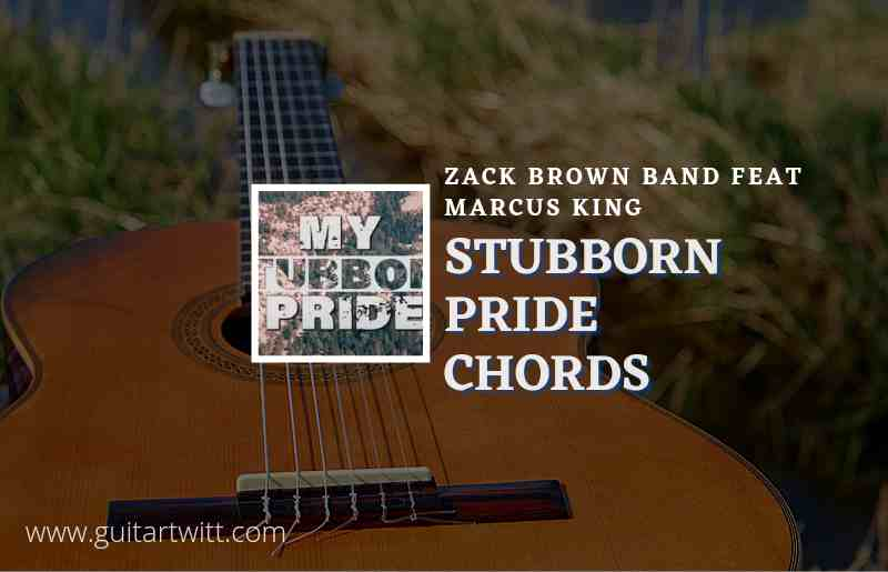 Read more about the article Stubborn Pride chords by Zac Brown Band feat. Marcus King