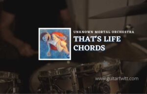 Read more about the article That Life chords by Unknown Mortal Orchestra
