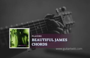 Read more about the article Beautiful James Chords by Placebo