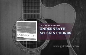 Read more about the article Underneath My Skin chords by The Band CAMINO