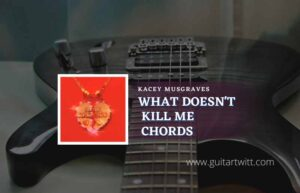 Read more about the article What Doesnt Kill Me chords by Kacey Musgraves