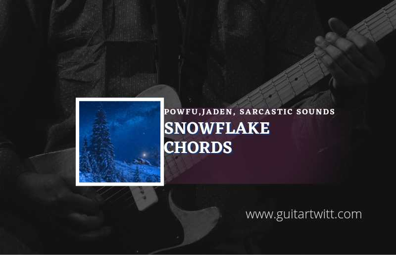 Read more about the article Powfu  – Snowflake chords feat. Jaden & Sarcastic Sounds