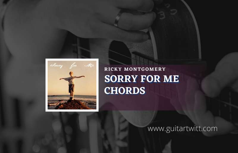 Sorry For Me