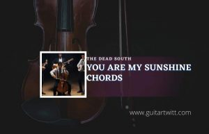 Read more about the article You Are My Sunshine chords by The Dead South